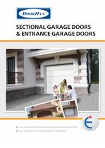 Sectional garage doors & entrance garage doors