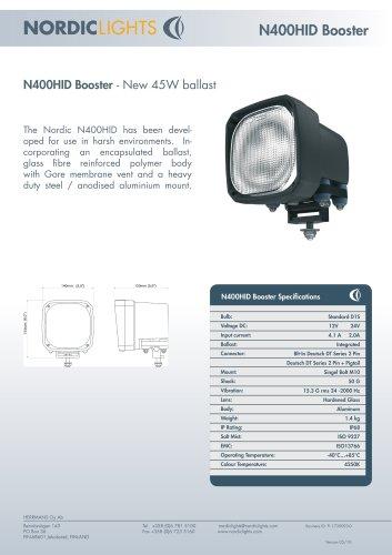 N400HID Booster