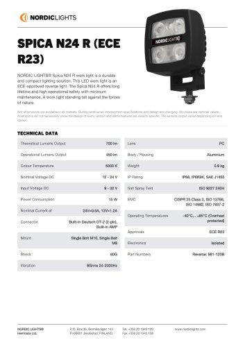 SPICA N24 R (ECE R23)