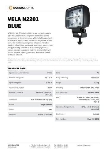 VELA N2201 BLUE