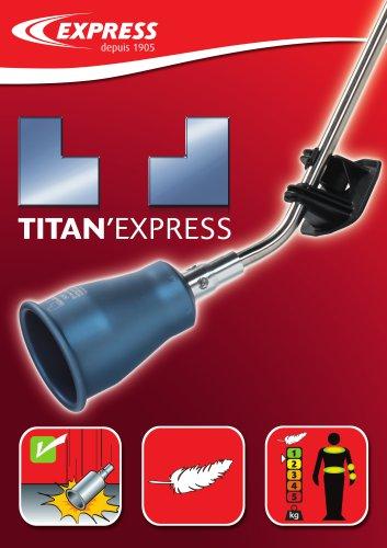 Sales arguments Titan'Express