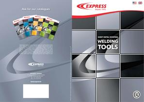 Sheet metal roofing welding tools