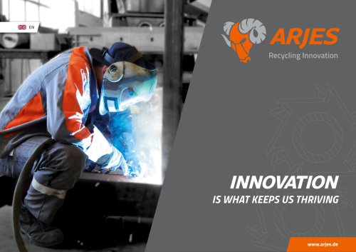 Innovation is what keeps us thriving