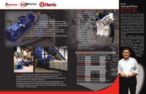 Harris Waste Baler Wiring Diagram on