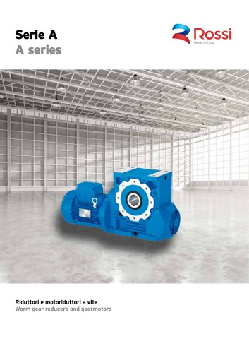Worm gear reducers and gearmotors Cat. A