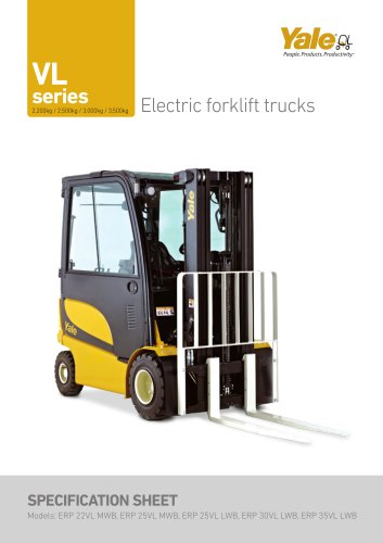 ERP22-35VL - Yale - PDF Catalogs | Technical Documentation