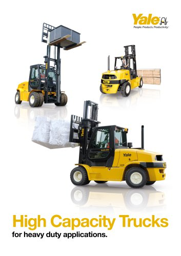 High Capacity trucks Brochure