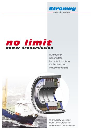no limit - power transmission - Hydraulically Operated Multi
