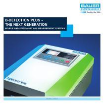 B-DETECTION PLUS – The Next Generation Online Gas Measurement Systems