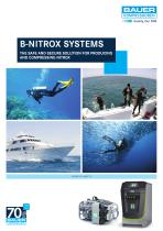 B-NITROX Systems – The safe and secure solution for producing and compressing nitrox