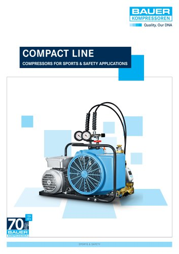 COMPACT LINE – Compressors for sports & safety applications