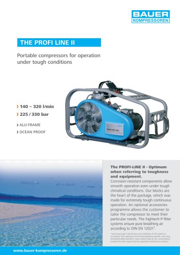 The PROFI LINE II