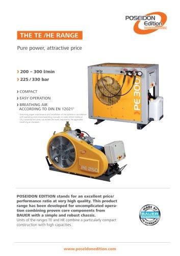 The TE/HE Range ? Pure power, attractive price