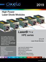 High Power Laser Diode Modules