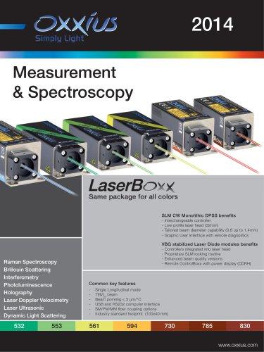 Measurement & Spectroscopy