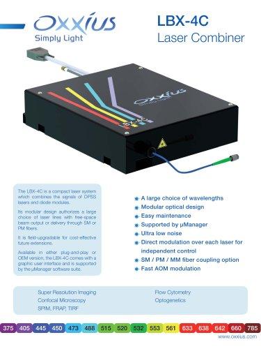 Optical combiner - LBX-4C