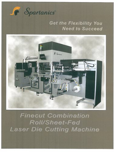 Finecut Combination Roll/Sheet Fed LASER DIE CUTTING MACHINE