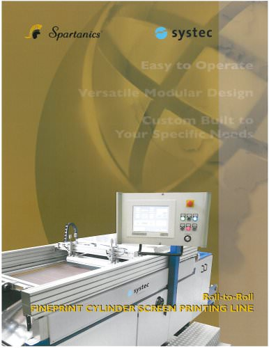 Fineprint Cylinder Screen Printing Line