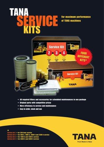 TANA service kit brochure