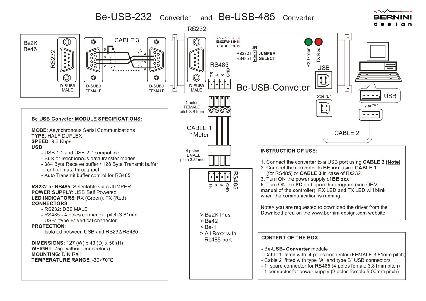 Serial Rs485 Wiring Diagram Library Rs 485 2 Wire Usb To Db9