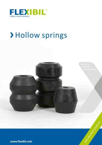 Hollow springs