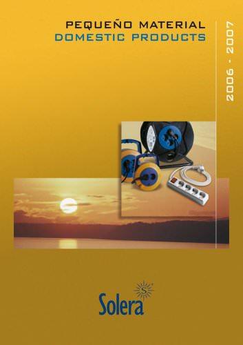 SOLERA Domestic products