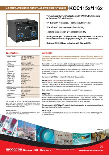 AC GENERATOR SHORT CIRCUIT AND OVER CURRENT GUARD