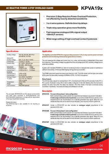 AC REACTIVE POWER 2-STEP OVERLOAD GUARD