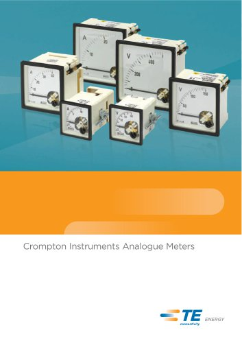 EQ Ammeter with Selector Switch Series