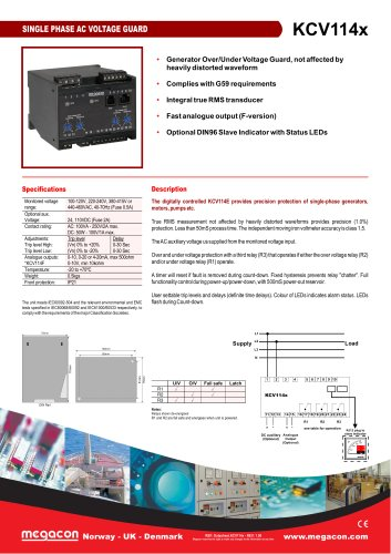 SINGLE PHASE AC VOLTAGE GUARD