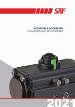 Actuators and Accesories Catalogue 2021