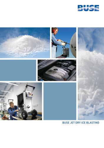 BUSE Jet Dry Ice Cleaning