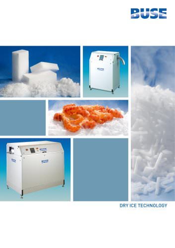 Dry ice production with BUSE