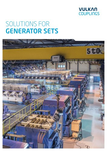 Solutions for Generator Sets