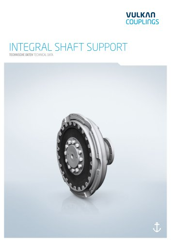 Technical data Integral Shaft Support