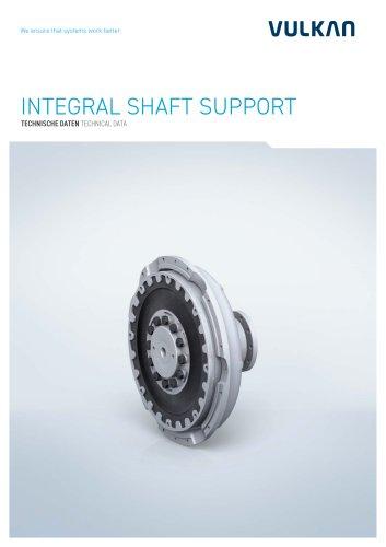 Technical data Integral Shaft Support