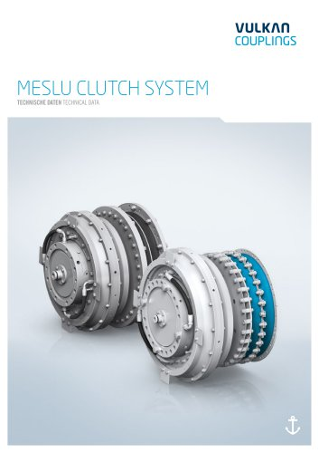 Technical data MESLU Clutch system