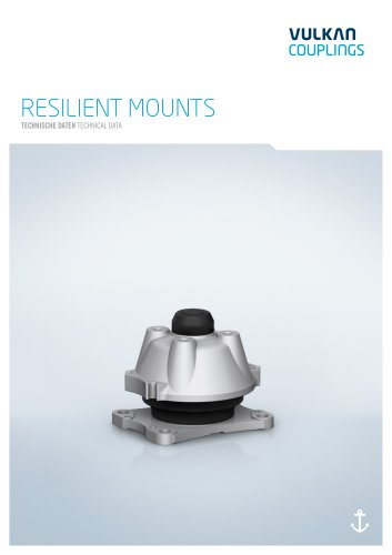Technical data RESILIENT MOUNTS