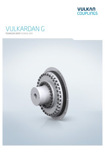 Technical data VULKARDAN G
