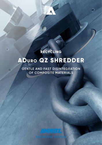 Universal Cross-Flow Shredder QZ