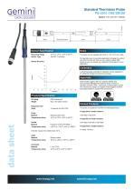 Standard thermistor probe for use with Tinytag data loggers - 1