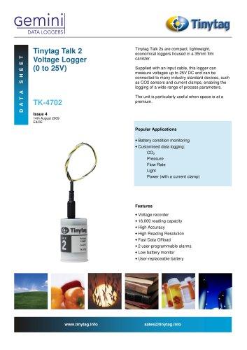 Voltage logger TK-4702