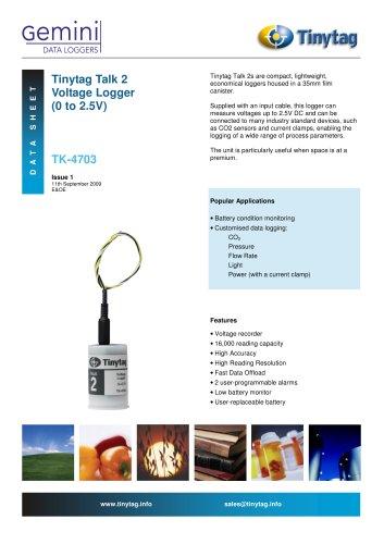 Voltage logger TK-4703