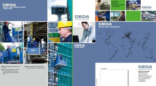 Brochure GEDA 1200 Z/ZP