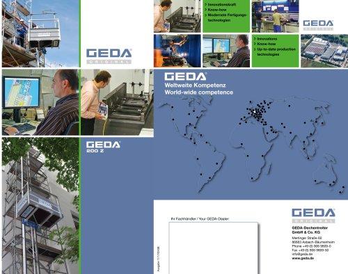 Brochure GEDA 200Z