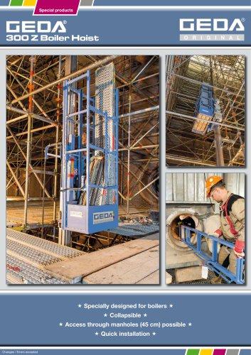 Brochure GEDA 300 Z Boiler Hoist - GEDA-Dechentreiter GmbH