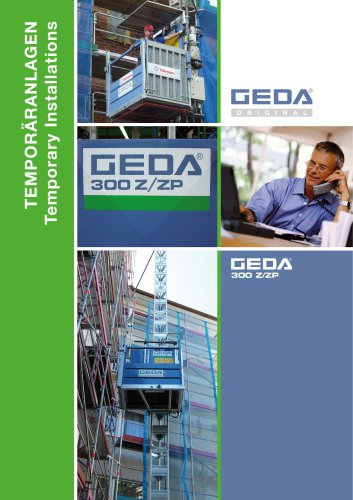 Brochure GEDA 300 Z/ZP