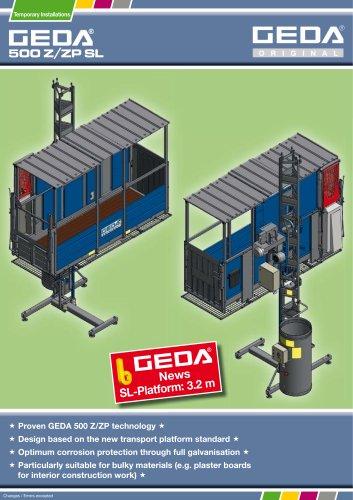 Brochure GEDA 500 Z/ZP SL - GEDA-Dechentreiter GmbH & Co  KG
