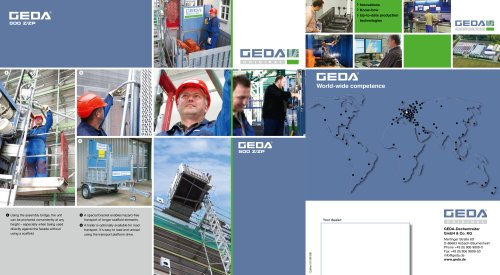 Brochure GEDA 500Z/ZP