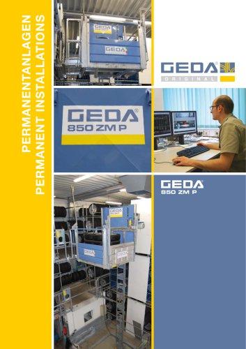 Brochure GEDA 850 ZM P